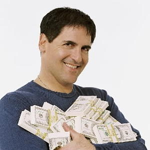 Billionaire businessman and Dallas Mavericks owner Mark Cuban poses in this undated publicity photograph for his new reality television series